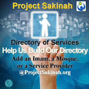 Follow Project Sakinah on Twitter!