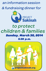 Raleigh Fundraising Dinner for Project Sakinah Protecting Children and Families