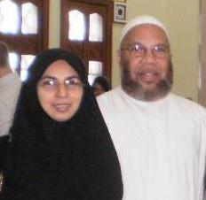 Abdulwali Carter and Shaima Hashmi