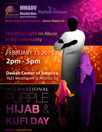 International Purple Hijab & Kufi Day 2015