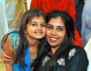 Shazmina Khan and her daughter, Samara, posed together for a photo in happier times. On Monday, July 4, Shazmina Khan was found slain in her apartment, and now her siblings seek custody of Samara.